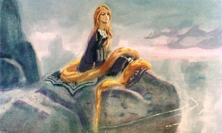 Картинки из сказа бажова золотой волос