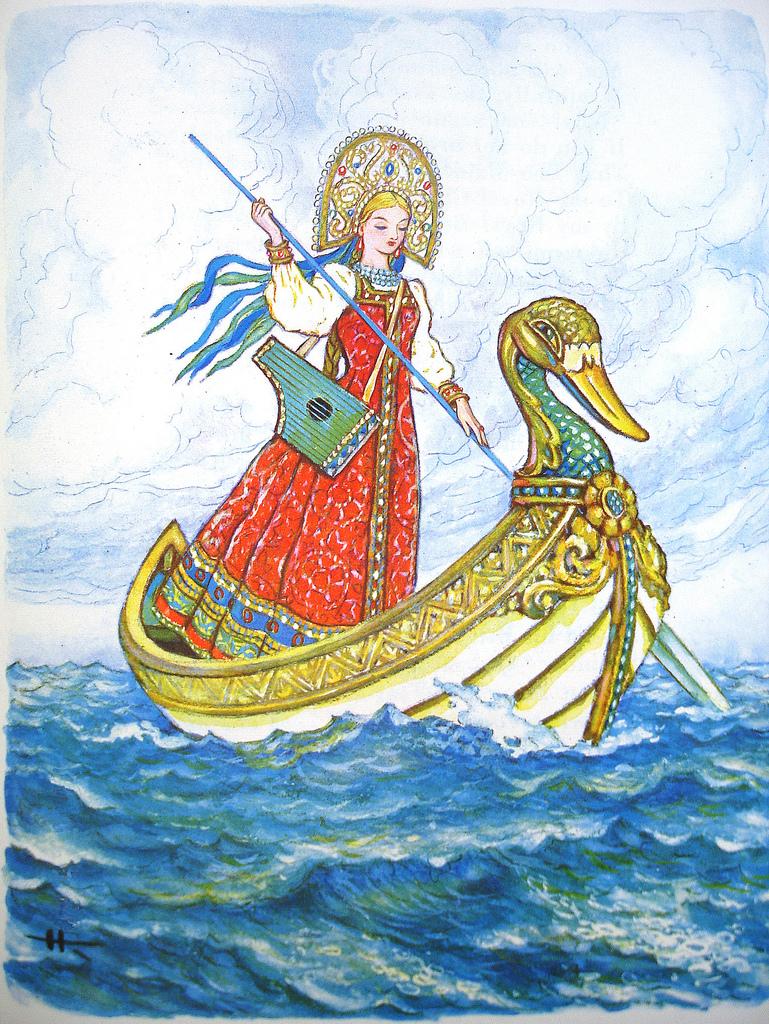 марья моревна рисунки к сказке хорошей