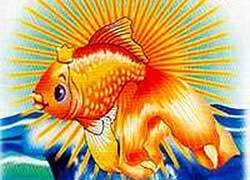Золотая рыбка - Сказочные персонажи